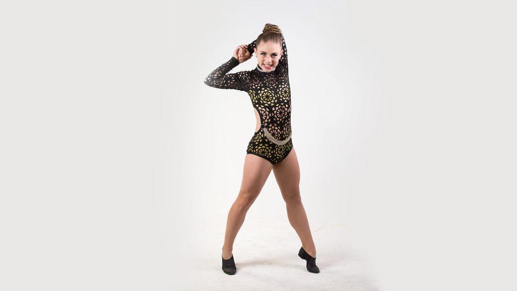 3d8131aa3e96c Black and Gold Leo-Hip Hop Dance - DA Designs Dancewear