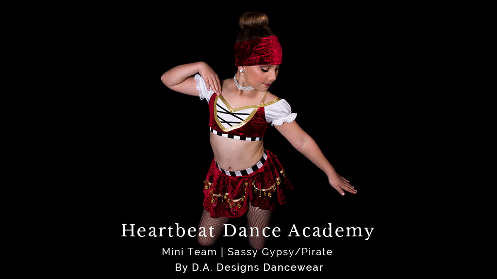 mini team dance costumes