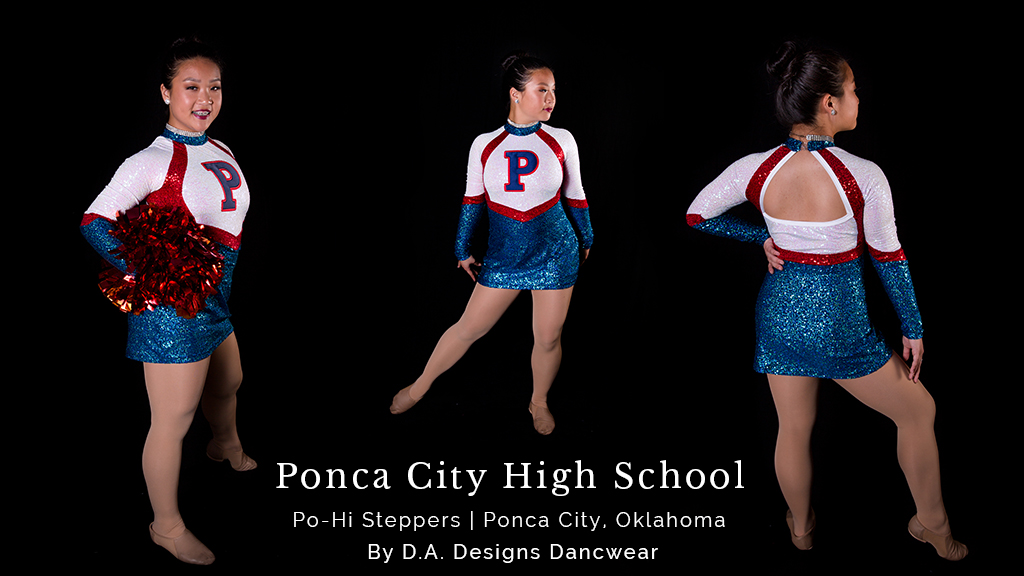 High School Pom Dance Costumes