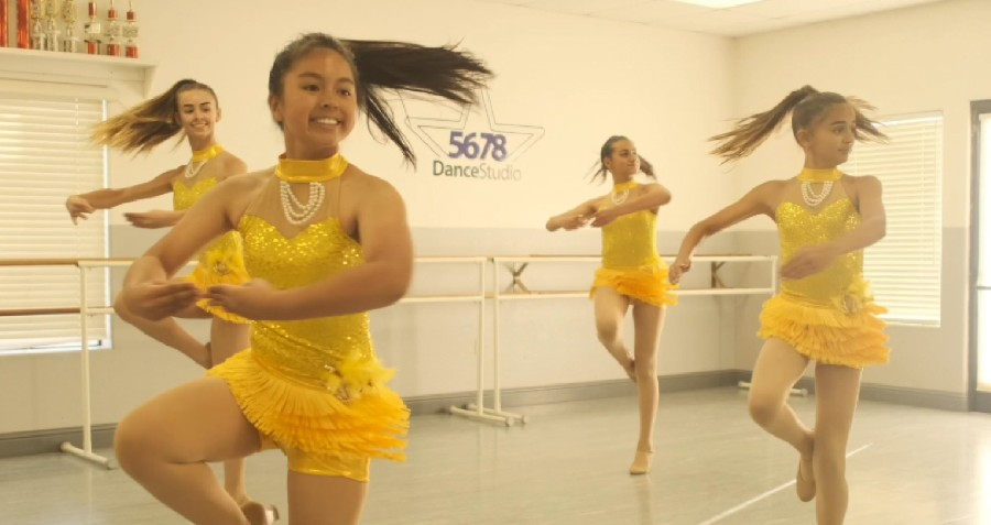 DA Designs Sing Sing Sing Custom Dance Costume Modesto 2