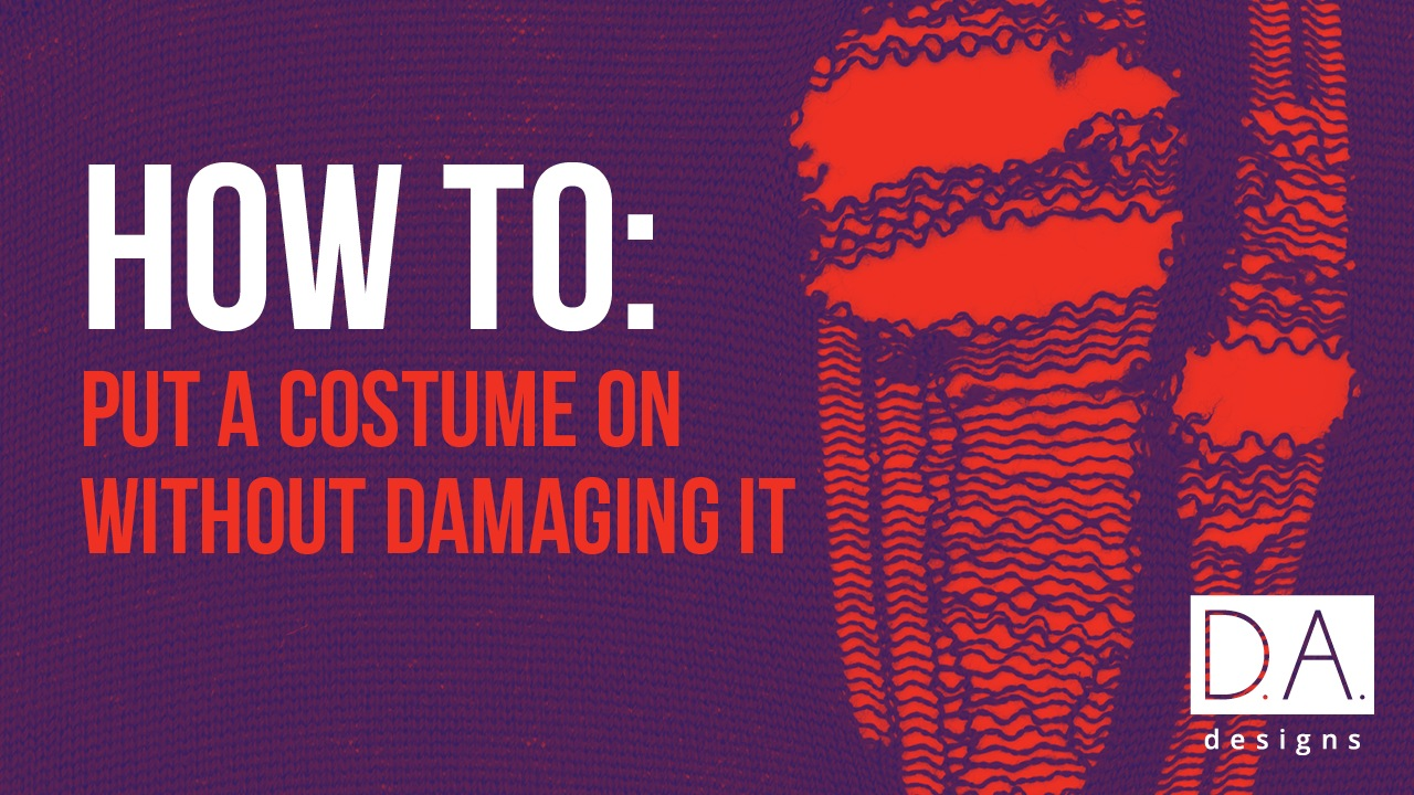 How to Put Dance Costume on Without Ripping Tearing